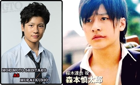 anelphantomhive:  which do you prefer ? Like = Kunio Murai Reblog = Tatsuya Sakuragi