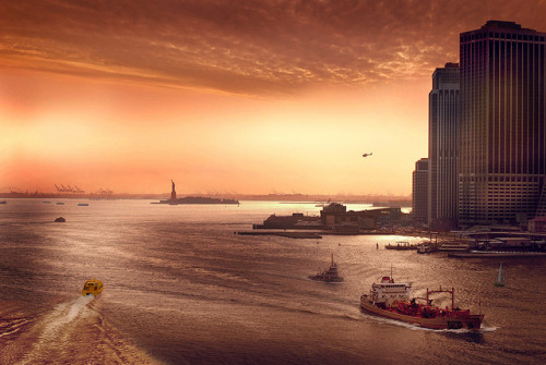 New York Harbor [x]
