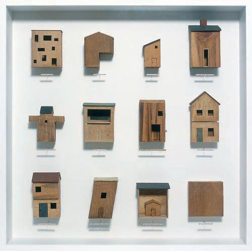 archimodels:  © chris kenny - twelve houses - 2005