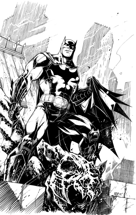 dcplanet:  Batman  Art by olivernome Check out DC Fan Arts #14