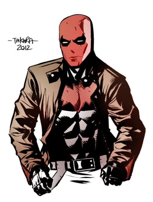 dcplanet:  Red Hood  Art by marciotakara Check out DC Fan Arts #14