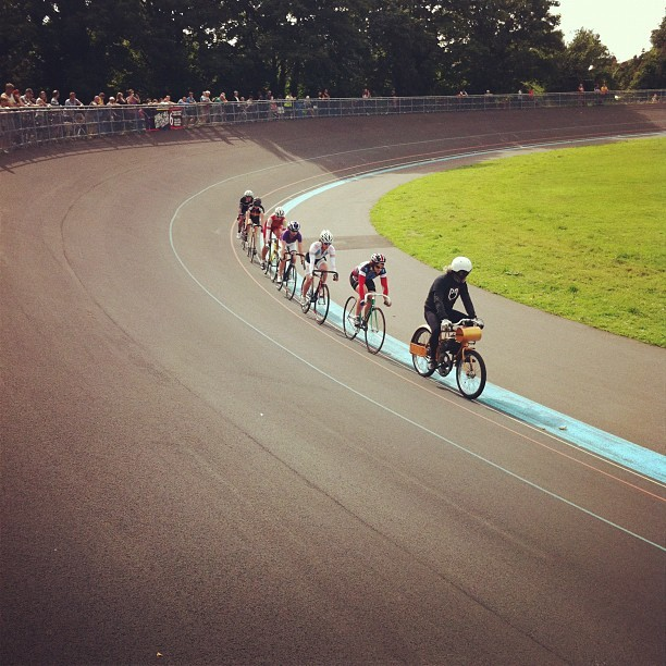 Taken with Instagram at Herne Hill Velodrome