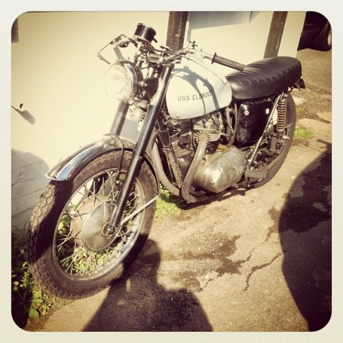 #eldridge #bike #hot #moto #motorcycle #velo #cycling  (Taken with Instagram)