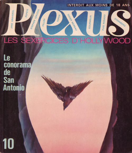 iconoclassic:  cover of 60s-70s French magazine PLEXUS (by 50 Watts)