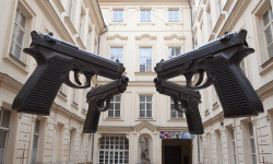 """Guns"", 2011  By: DAVID CERNY…."