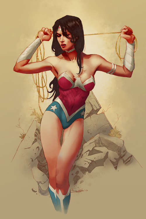 dcplanet:  Wonder Woman new 52 Art by Takrezz Check out new DC Fan Arts #14