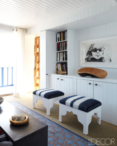 beach house: nathan turner + eric hughes source: elle decor