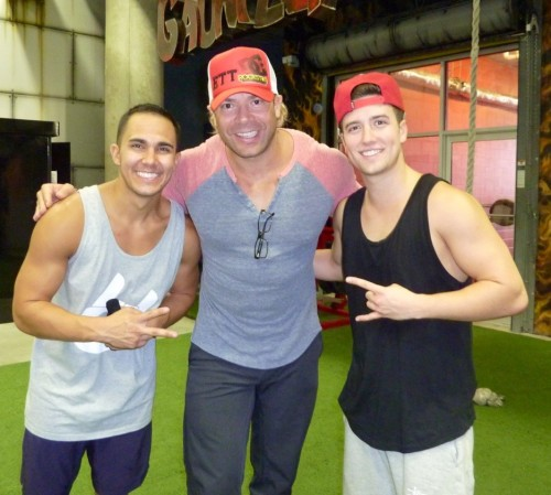 @EricTheTrainer: The three musketeers of fitness in Tampa!! @TheCarlosPena @1LoganHenderson @bigtimerush @bigtimetour @GoldsGym