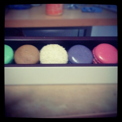 buy a special gift. .. #macaron (Taken with Instagram at Bakerzin)