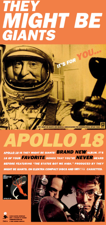 mojavemaniac:  They Might Be Giants Apollo 18 Promo!