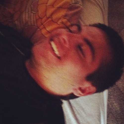 This is Falk's face when Ally tickles him to death (Taken with Instagram)