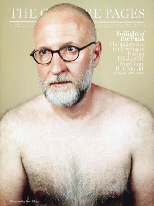 Bob Mould for New York Magazine from last year.  This is still one of my favorite openers that has been in print.  Bob was awesome and I had a blast photographing him. He has a new album coming out this fall.  New site launching with lots more of these tear sheets hopefully in the next week or so.