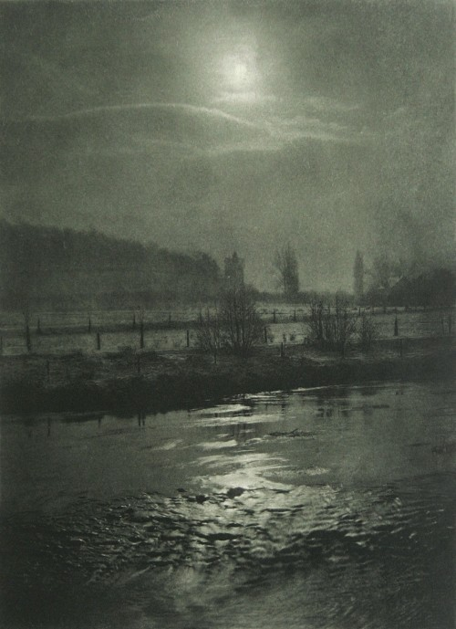 firsttimeuser:  Moonlit Night, 1898 by Hugo Büchner