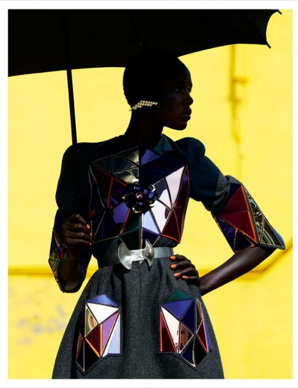 Ajak Deng for Obsession Magazine August 2012