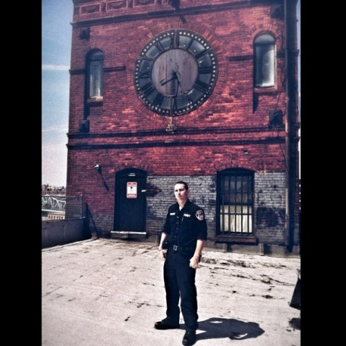 #paramedic #fdny #ems #clocktower #benjaminbriu #photography #studio in my studio!  (Taken with Instagram)
