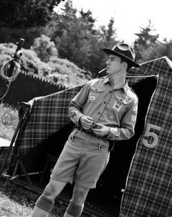 Edward Norton as Scout Master Randy Ward