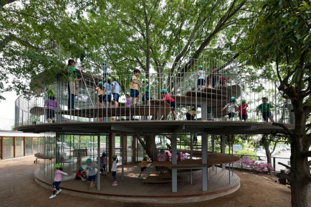 (via Ring Around a Tree by Tezuka Architects » CONTEMPORIST)