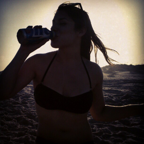 When by the water drink water flavored beer.   Photo by gabriellaloves