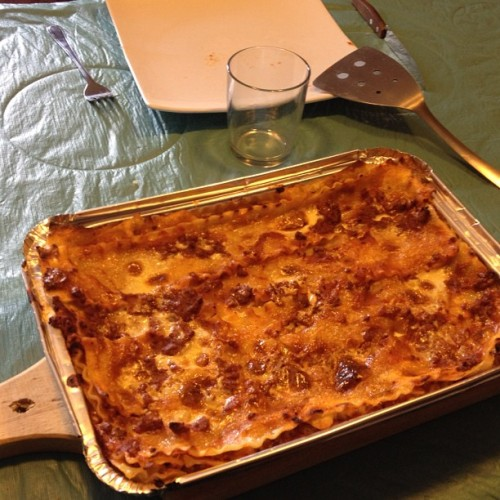 This is lasagna! (Taken with Instagram)