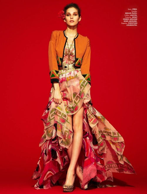 Kelsey Van Mook by Jason Kim for Elle Mexico (april 2012)