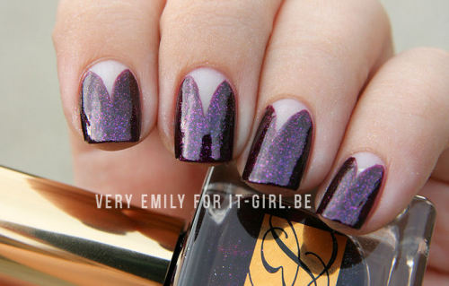 Nail Art I created for It-Girl.be using Estée Lauder nail polish! Read more here.
