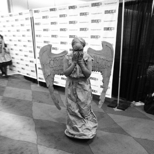 Don't blink. #FanExpoCan #DoctorWho (Taken with Instagram)