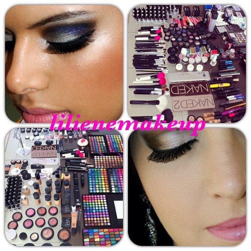 Follow @lilienemakeup for gorgeous makeup! #mua #makeupartist #mac #maccosmetics #urbandecay #nars #narscosmetics  (Taken with Instagram)
