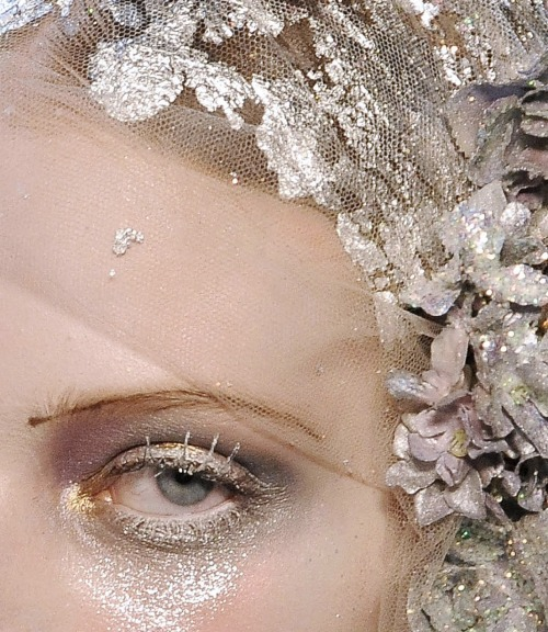 tanya dziahileva at john galliano autumn/winter 2009-2010