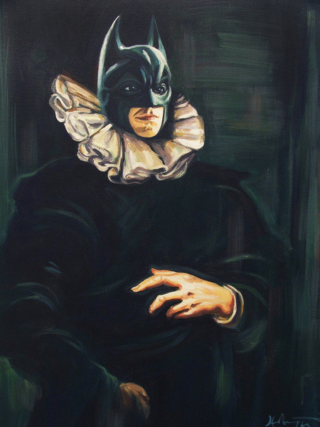 'Bat Brueghel' by Hillary White