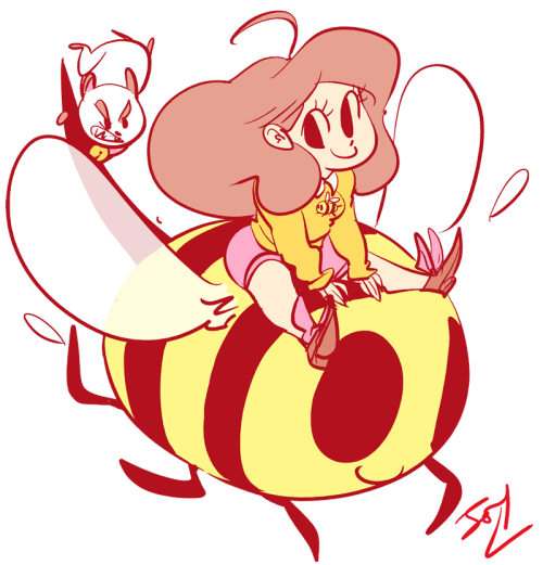 Puppycat! Bee also. (copyright) Natasha!