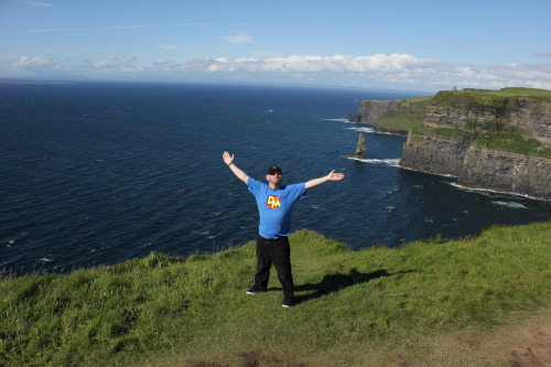 YAY THE CLIFFS OF MOHER!!!