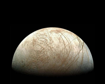 Galileo's picture of Europa