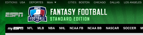 I don't know what happened to my life but I am now in two fantasy football leagues