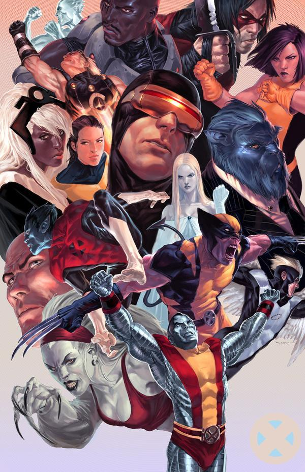 comicbookartwork:  The X-Men