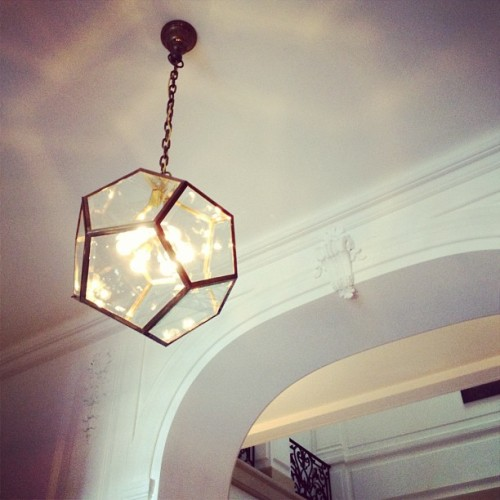 obsessed with this fixture @NeueGalerieNY (Taken with Instagram)