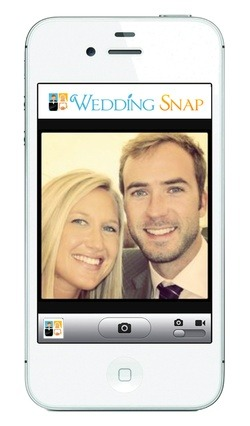 Brilliant Wedding Snap's iPhone & Android apps instantly capture your guests' photos into your online album, without having to wander around facebook or beg your guests for months.