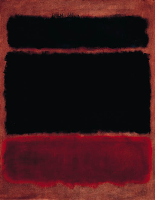acapareda:  Mark Rothko- Black in Deep Red (1957)