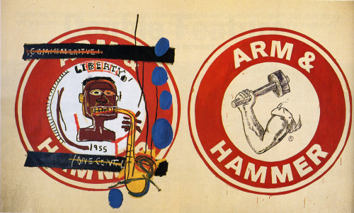 Arm and Hammer II, Jean-Michel Basquiat & Andy Warhol, 1985
