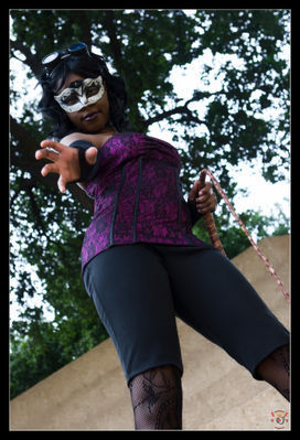 Helena Isis as Steampunk Catwoman Submitted by helenaisis