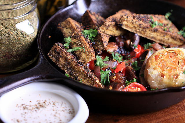 Za'atar Tofu by Jeff and Erin's pics on Flickr.