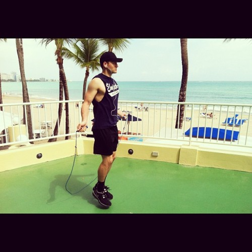 infinityditto:  Tropical workout (Taken with Instagram)