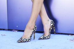 pointy heels in leopard. via cheyennemeetschanel