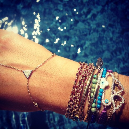themanrepeller:  Just a really, really interesting bracelet shot unlike anything you've ever seen on instagram before. (Taken with Instagram at Shinnecock Hills)