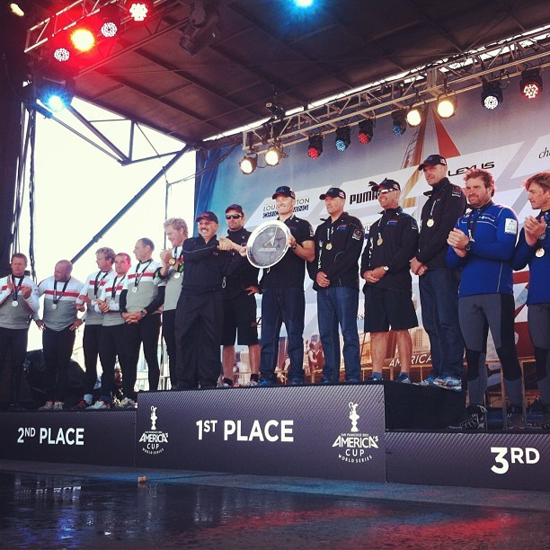 Fleet Racing Championship winners #americascup #sanfrancisco  #supersunday #moetmoment (Taken with Instagram)