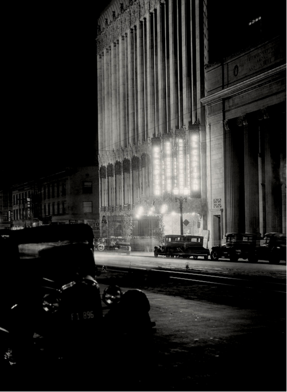 E.O. Hoppé Hollywood at night, 1927