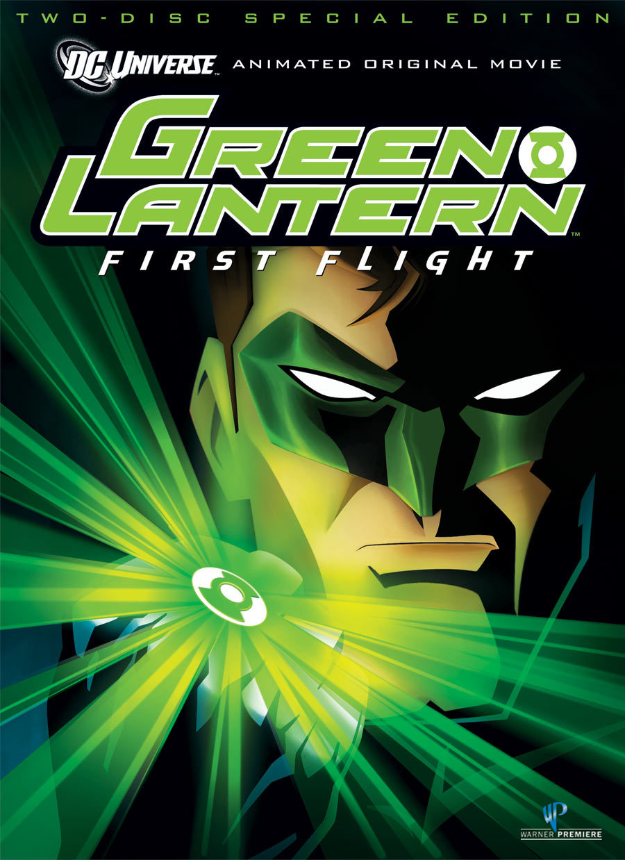 Title: Green Lantern: First Flight (2009) Synopsis: As a league of interstellar species fight to preserve the universe, a human happens upon their organization and becomes the bravest of them all. Why you should like it: Seriously, f—k the live-action movie with Ryan Reynolds. Reynolds, we're still good, but that movie was god awful. If you want a real GL movie, try this on for size.  Availability: DVD, Blu-Ray, Digital Download.