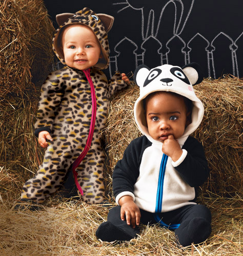 Tiny Tillia Animal Coverall ($16.99)  You'll go camera crazy when baby wears these adorable 100% Poly Micro-fleece coveralls. Man-made. Machine wash. Imported.
