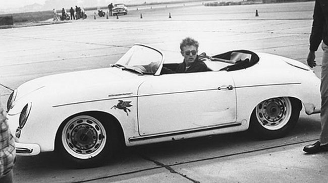 James Dean brought his 1955 Porsche 356 Speedster to Santa Barbara's airport course, fated to be his last race. His premature death in a car crash cemented his legendary status as an American actor and petrolhead.