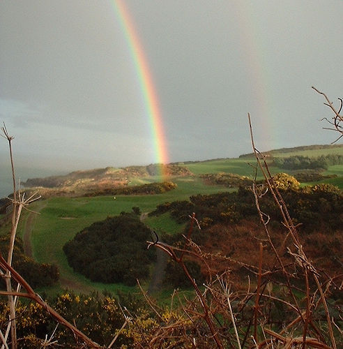 Rainbows in Wicklow by jaqian on flickr