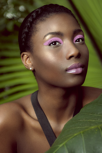darkskinnedblackbeauty:  Urban Jungle Editorial for pride Magazine by Coco rococo on Flickr.  There is nothing more beautiful than a black woman. Her skin just flawless